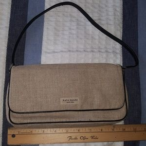 Kate Spade NY Baguette Style Made in Italy Purse